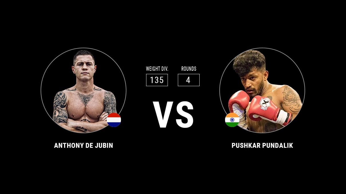 Anthony De Jubin vs Pushkar Pundalik