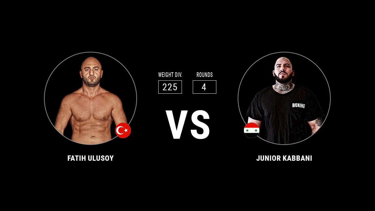 Fatih Ulusoy vs Junior Kabbani