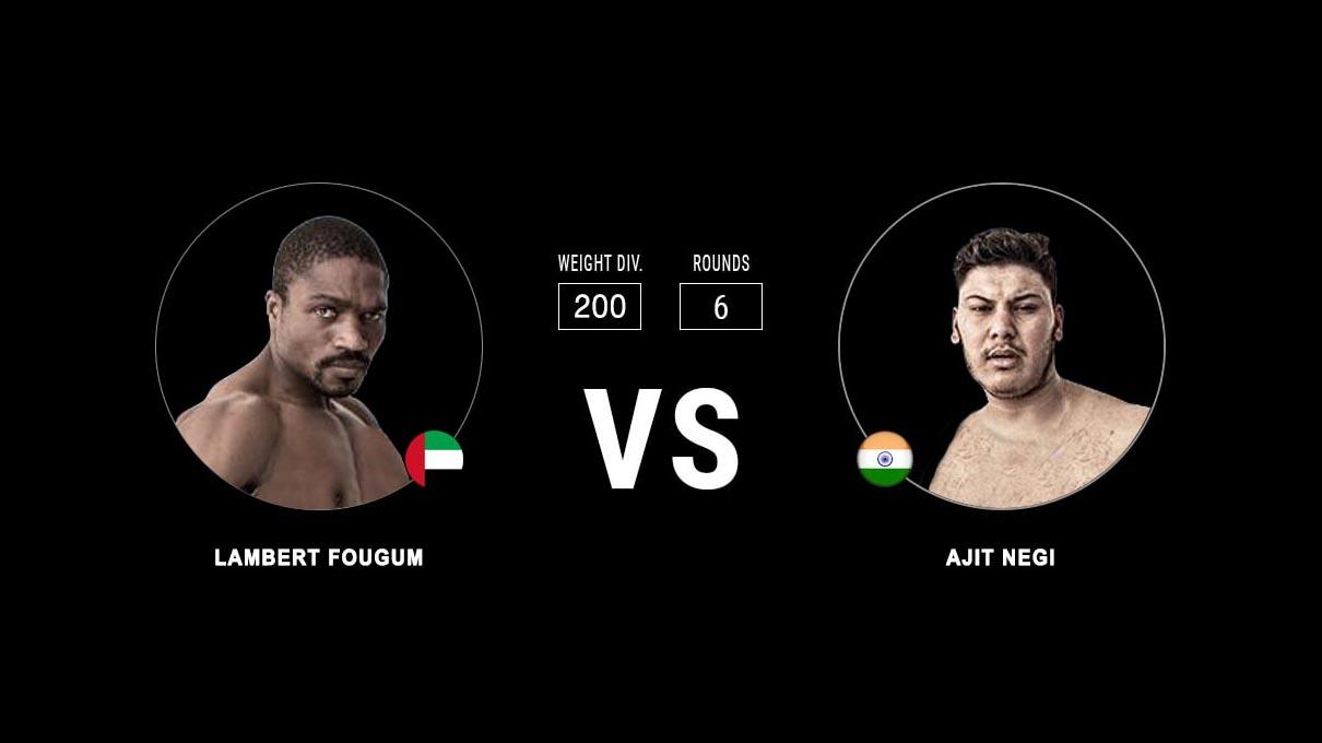 Lambert Fougum vs Ajit Negi